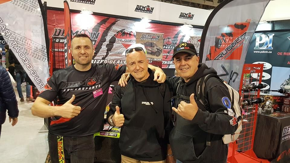 JAY PARTS Eicma 2017 - Besuch Quadstore.it