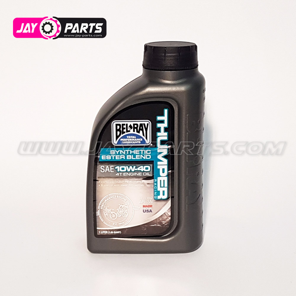 Bel-Ray Thumper Racing Syn Ester Blend 4T Engine Oil 10W-40