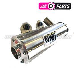 HMF Abgassystem Slip-on der Titan QS Serie mit Billet Endkappe - Polaris Sportsman 850 / 1000