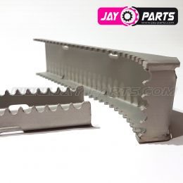 Jay Parts foot rest RACE stainless steel JP0032