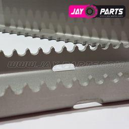 Jay Parts Fußrasten RACE Edelstahl JP0032