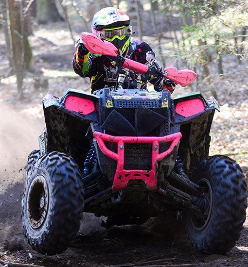 Jay Parts Race ATV Iris
