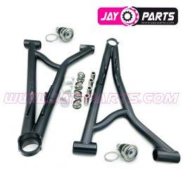 JAY PARTS A-Arms vonre/oben - Set links & rechts, JAY 1 - JP0120