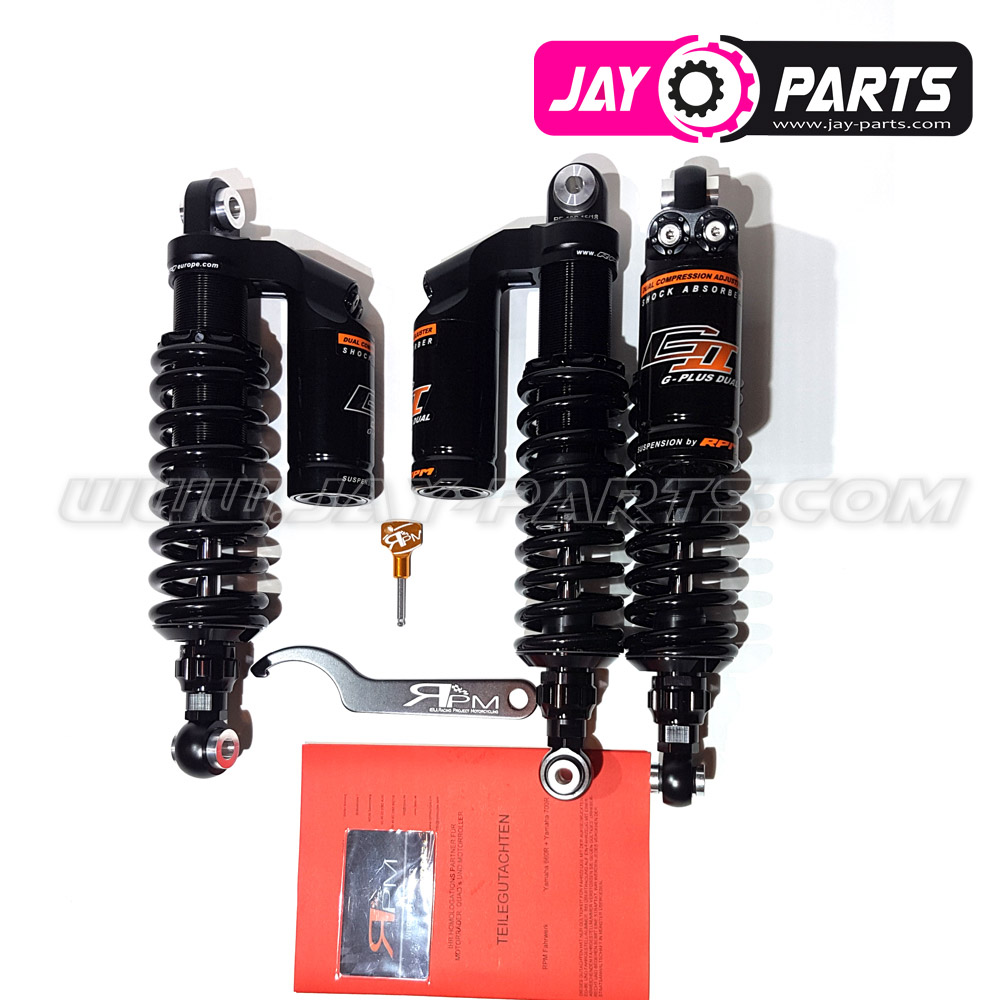 RPM GII G-Plus Dual Suspension - Yamaha YFM 660R & 700R including components certificate