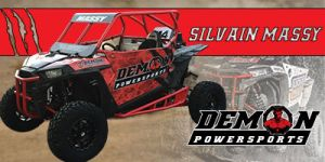 Demon Powersports official rider: Silvain Massy