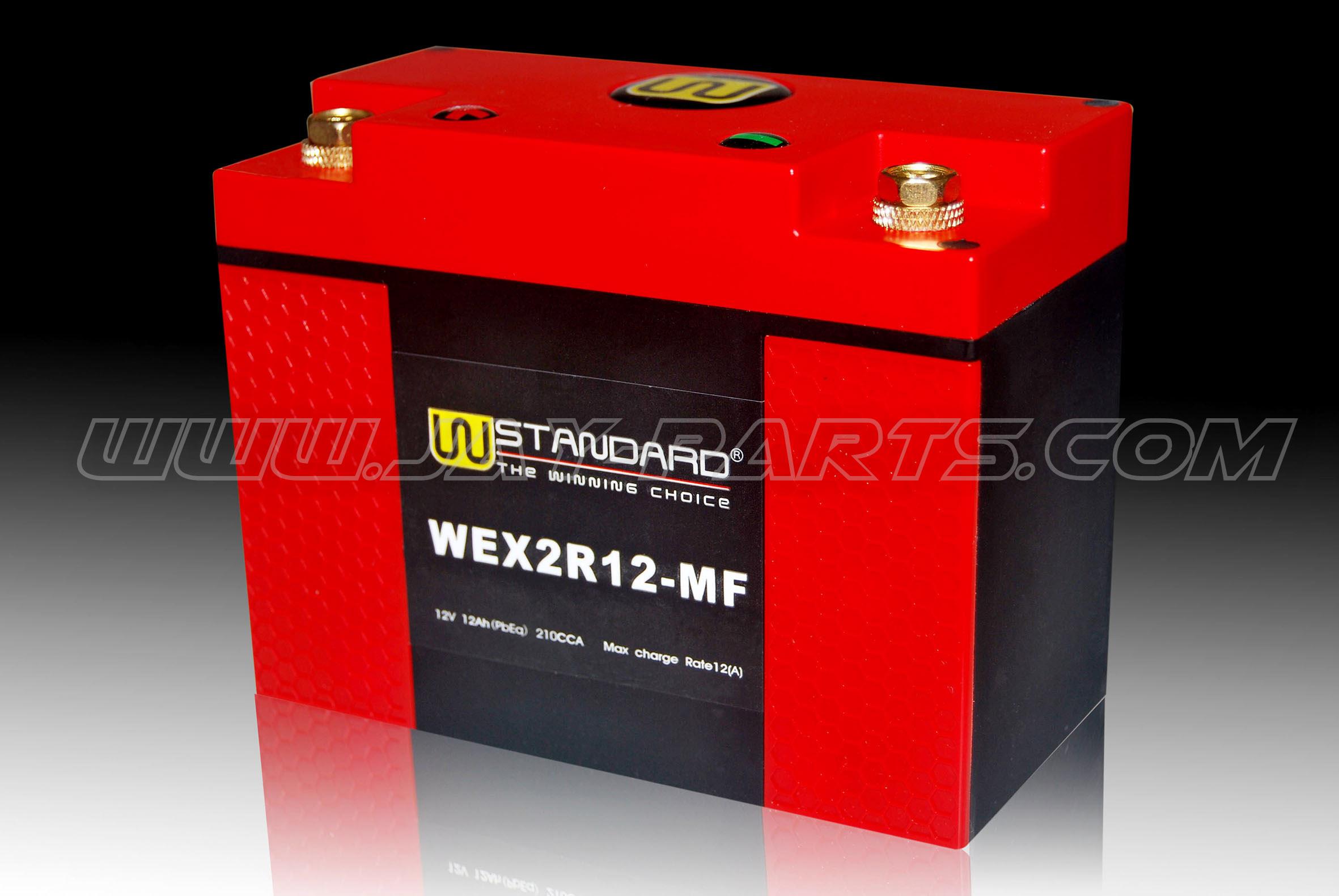 W-Standard Lithium Batterie WEX2R12-MF