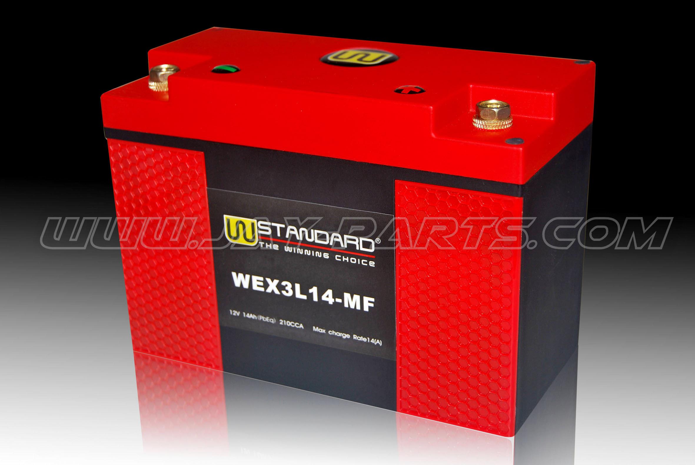 W-Standard-Lithium Batterie WEX3L14-MF