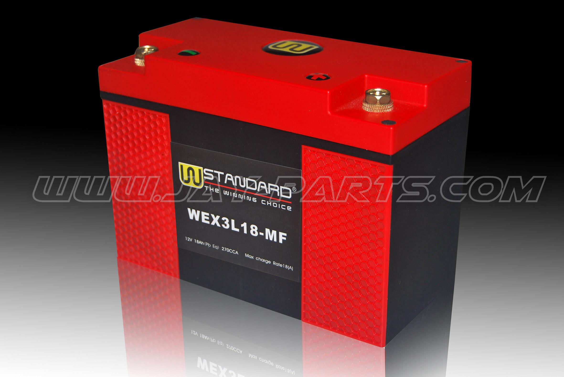 W-Standard Lithium Batterie WEX3L18-MF