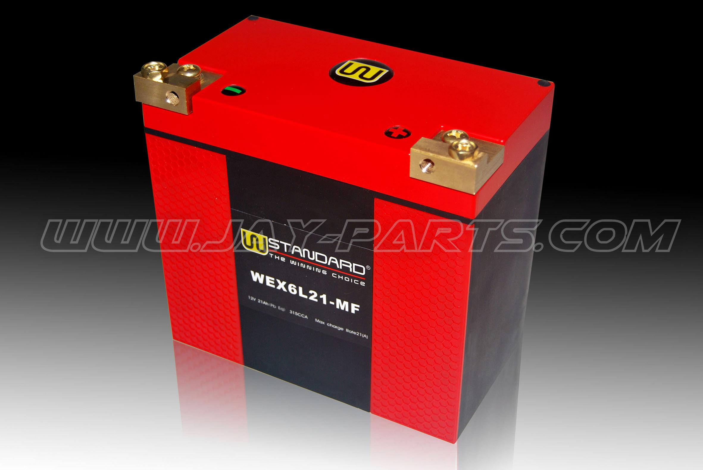 W-Standard Lithium Batterie WEX6L21-MF