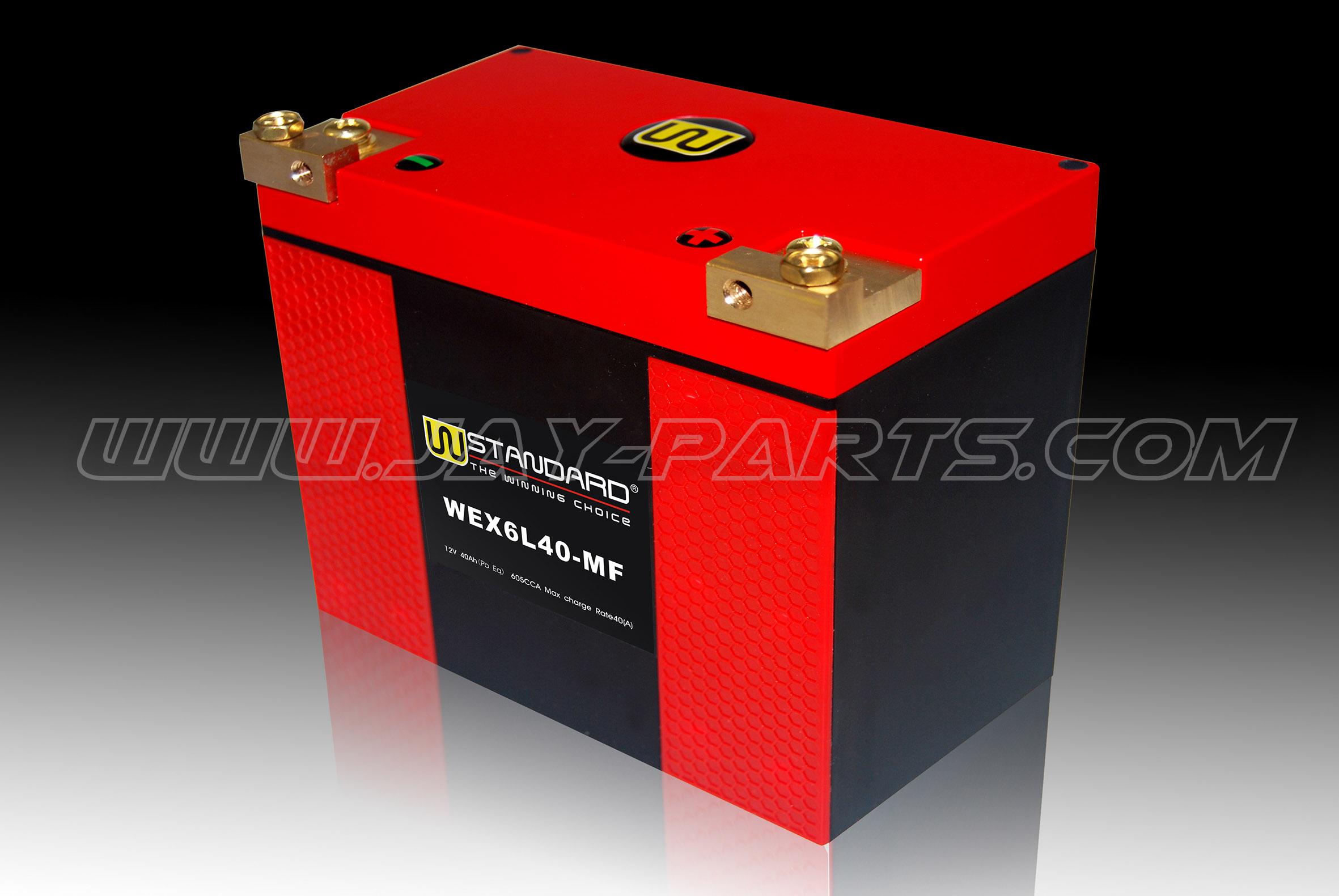 W-Standard Lithium Batterie WEX6L40-MF