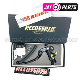 Accossato Racing Master Bremsbumpe für Links 19x20 (Ausgleichsbehälter extra)