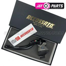Accossato Racing Master Bremspumpe für Links 19x20 (Ausgleichsbehälter integriert)