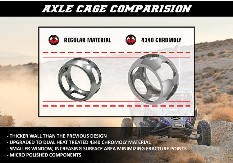 Demon Powersports Acle cage comparison