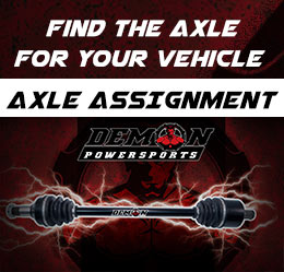 Find the axle for your vehicle