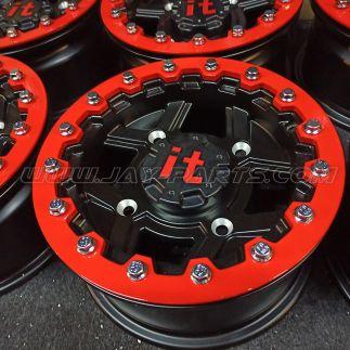 IT Beadlock Felge POLARIS S 12 x 6 4x156 ET +25 (4+2) bei Jay Parts