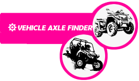 Find the axle for your vehicle with 3 clicks
